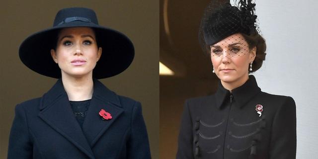 Đẳng cấp như Công nương Kate: Chỉ với loạt cử chỉ trong tang lễ Hoàng tế Philip đủ làm lu mờ chiêu trò của Meghan ở trời Mỹ - Ảnh 10.