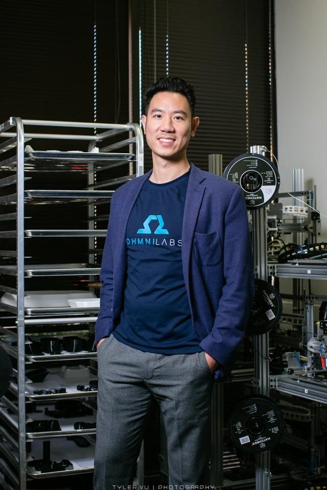 Founder OhmniLabs - Thức Vũ: Tôi muốn làm bùng nổ việc sử dụng robot vận hành bằng trí tuệ nhân tạo trên toàn thế giới - Ảnh 2.