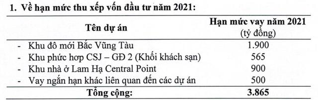 DIC Corp (DIG): Năm 2021 đặt mục tiêu LNTT tăng 60% lên 1.444 tỷ đồng, tiếp tục vay vốn lớn cho dự án Bắc Vũng Tàu - Ảnh 1.