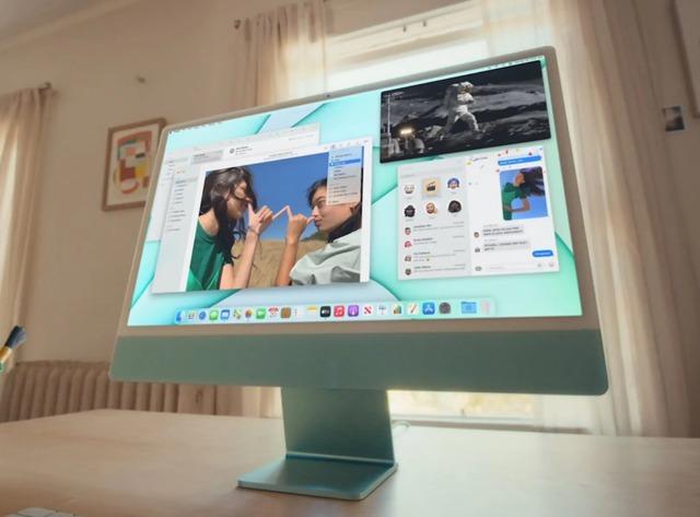 Apple công bố iMac mới: Mỏng hơn, nhiều màu sắc, chip M1, giá từ 1.299 USD - Ảnh 1.
