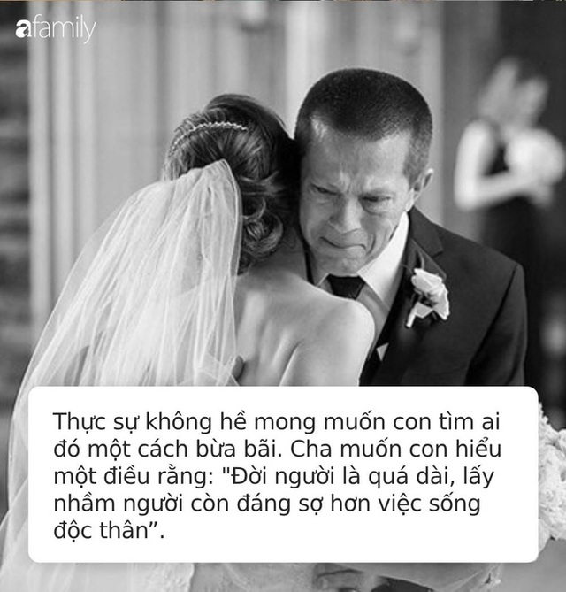 Bức thư cha gửi con gái 30 tuổi chưa kết hôn bão like trên MXH: Cha thà để con không lấy chồng còn hơn là có một cuộc hôn nhân mù quáng! - Ảnh 2.
