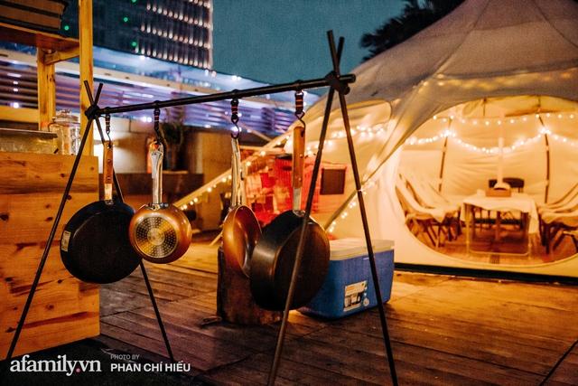 Siêu Hot: Glamping - Cắm trại xa xỉ trên nóc tòa nhà cao nhất Hà Nội, một khung cảnh cam kết đẹp hơn cả trên phim với loạt trải nghiệm siêu thú vị cho cả gia đình - Ảnh 13.