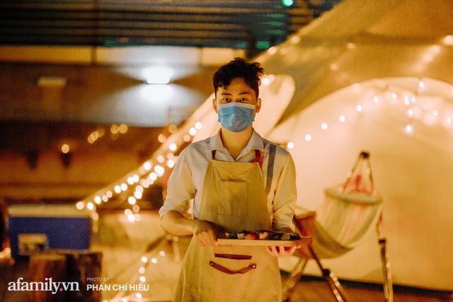 Siêu Hot: Glamping - Cắm trại xa xỉ trên nóc tòa nhà cao nhất Hà Nội, một khung cảnh cam kết đẹp hơn cả trên phim với loạt trải nghiệm siêu thú vị cho cả gia đình - Ảnh 23.