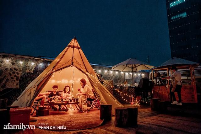 Siêu Hot: Glamping - Cắm trại xa xỉ trên nóc tòa nhà cao nhất Hà Nội, một khung cảnh cam kết đẹp hơn cả trên phim với loạt trải nghiệm siêu thú vị cho cả gia đình - Ảnh 24.