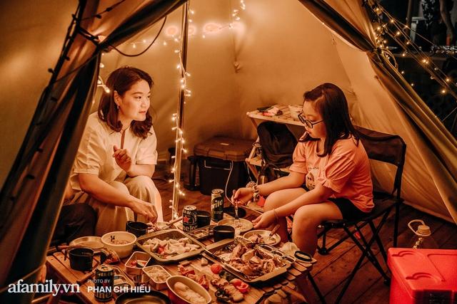 Siêu Hot: Glamping - Cắm trại xa xỉ trên nóc tòa nhà cao nhất Hà Nội, một khung cảnh cam kết đẹp hơn cả trên phim với loạt trải nghiệm siêu thú vị cho cả gia đình - Ảnh 25.