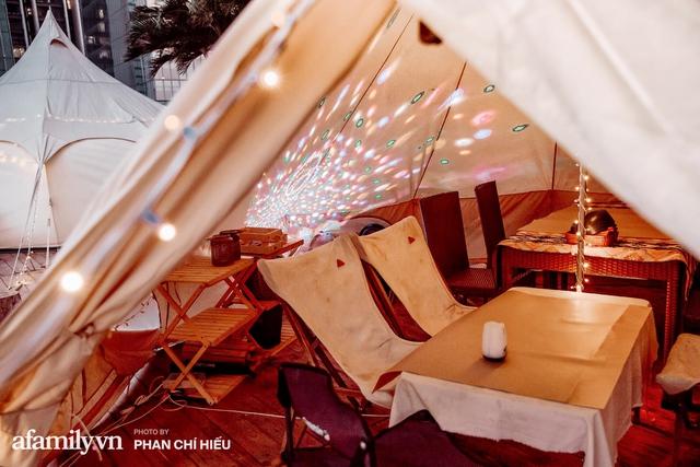 Siêu Hot: Glamping - Cắm trại xa xỉ trên nóc tòa nhà cao nhất Hà Nội, một khung cảnh cam kết đẹp hơn cả trên phim với loạt trải nghiệm siêu thú vị cho cả gia đình - Ảnh 10.