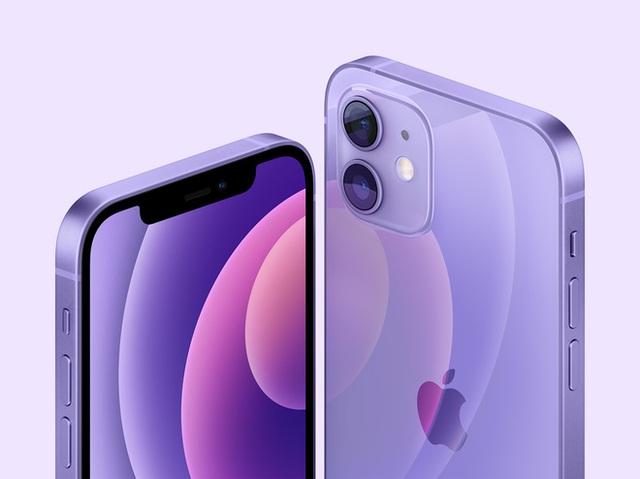 Apple ra mắt iPhone 12 màu tím, giá không đổi - Ảnh 1.