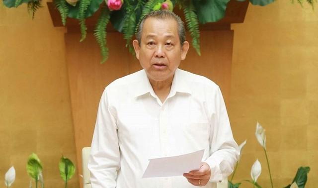 Phân công công tác của Thủ tướng Phạm Minh Chính và các Phó Thủ tướng  - Ảnh 2.