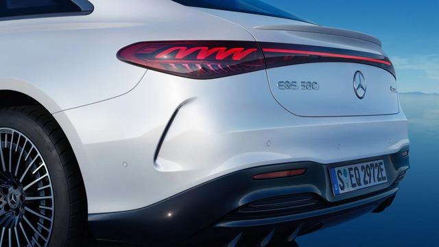 Siêu phẩm xe điện EQS đã xuất hiện trong danh mục của Mercedes tại Việt Nam - Ảnh 3.