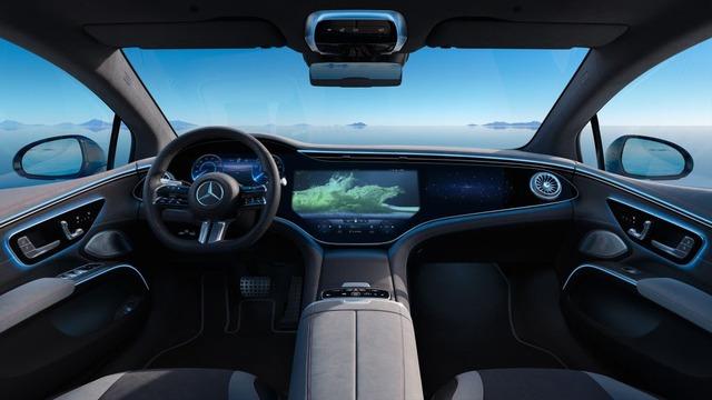 Siêu phẩm xe điện EQS đã xuất hiện trong danh mục của Mercedes tại Việt Nam - Ảnh 4.