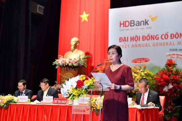 ĐHCĐ HDBank: Lên kế hoạch lợi nhuận hơn 7.200 tỷ đồng trong năm nay, trả cổ tức tỷ lệ 25% - Ảnh 2.