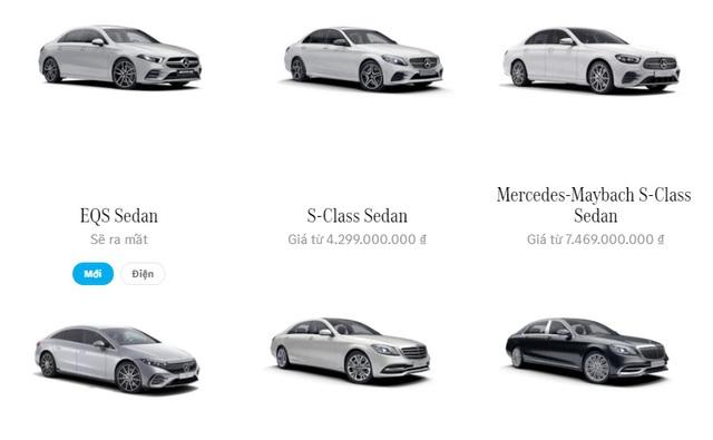 Siêu phẩm xe điện EQS đã xuất hiện trong danh mục của Mercedes tại Việt Nam - Ảnh 1.