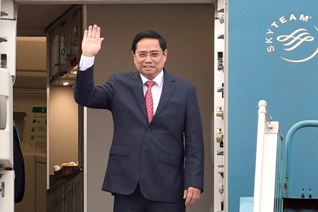 Chùm ảnh: Thủ tướng Phạm Minh Chính dự Hội nghị các Nhà lãnh đạo ASEAN - Ảnh 1.