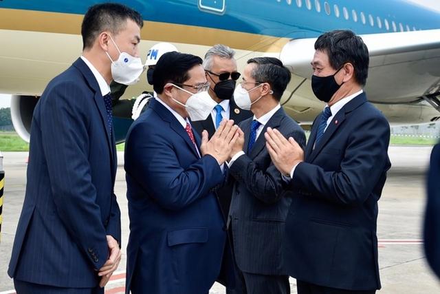 Chùm ảnh: Thủ tướng Phạm Minh Chính dự Hội nghị các Nhà lãnh đạo ASEAN - Ảnh 2.