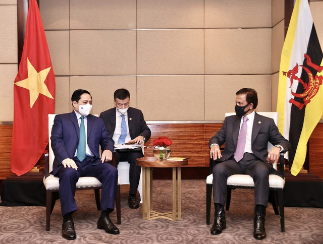 Chùm ảnh: Thủ tướng Phạm Minh Chính dự Hội nghị các Nhà lãnh đạo ASEAN - Ảnh 12.