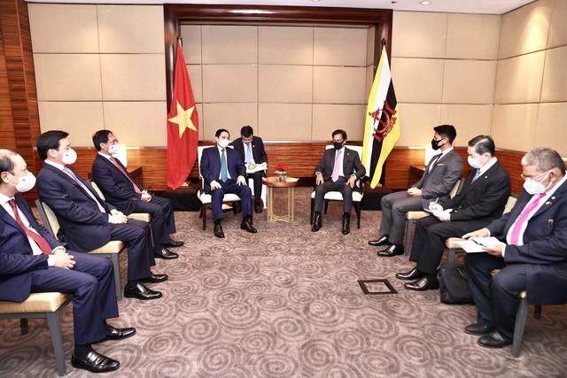 Chùm ảnh: Thủ tướng Phạm Minh Chính dự Hội nghị các Nhà lãnh đạo ASEAN - Ảnh 13.