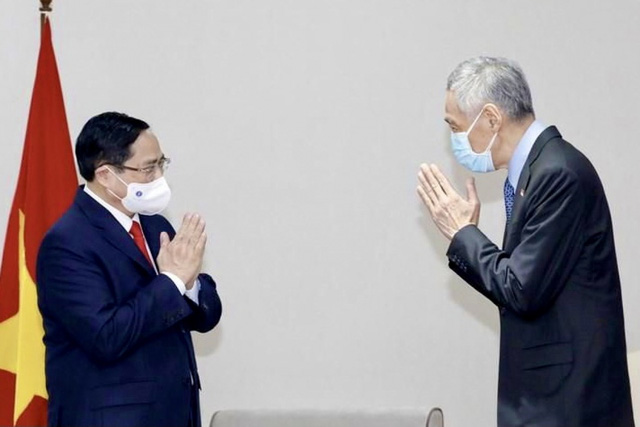 Chùm ảnh: Thủ tướng Phạm Minh Chính dự Hội nghị các Nhà lãnh đạo ASEAN - Ảnh 14.