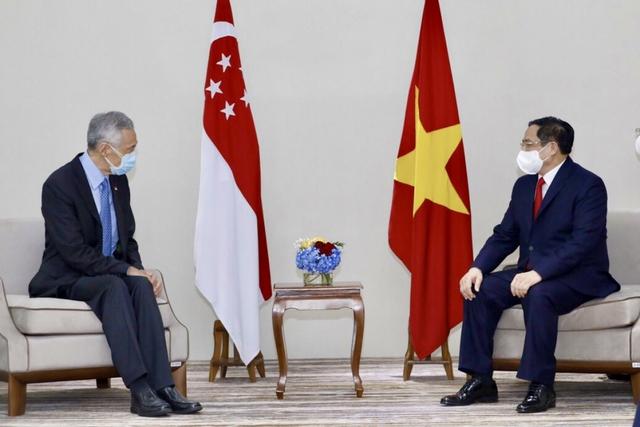 Chùm ảnh: Thủ tướng Phạm Minh Chính dự Hội nghị các Nhà lãnh đạo ASEAN - Ảnh 15.