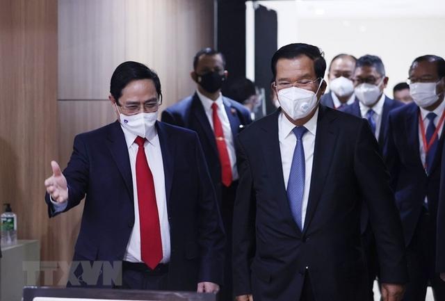 Chùm ảnh: Thủ tướng Phạm Minh Chính dự Hội nghị các Nhà lãnh đạo ASEAN - Ảnh 18.