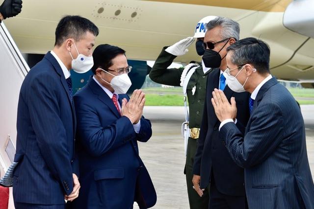 Chùm ảnh: Thủ tướng Phạm Minh Chính dự Hội nghị các Nhà lãnh đạo ASEAN - Ảnh 3.