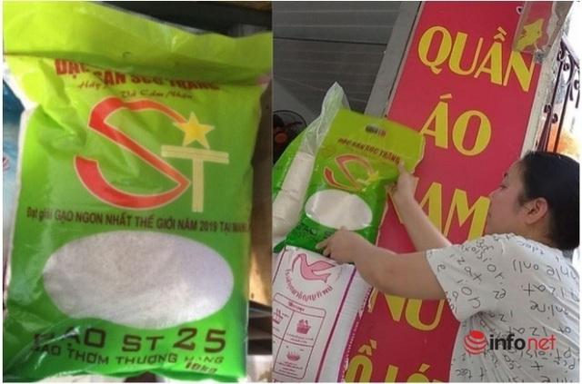 Thị trường vô vàn loại gạo ST25, khó biết thật giả - Ảnh 3.