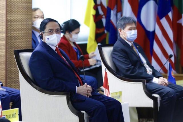 Chùm ảnh: Thủ tướng Phạm Minh Chính dự Hội nghị các Nhà lãnh đạo ASEAN - Ảnh 21.