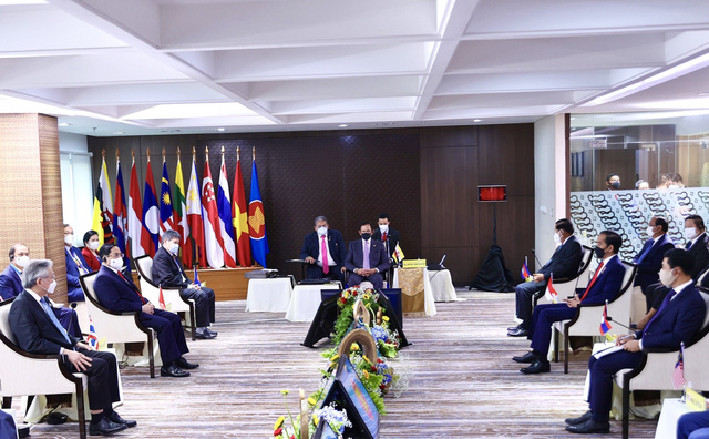 Chùm ảnh: Thủ tướng Phạm Minh Chính dự Hội nghị các Nhà lãnh đạo ASEAN - Ảnh 22.