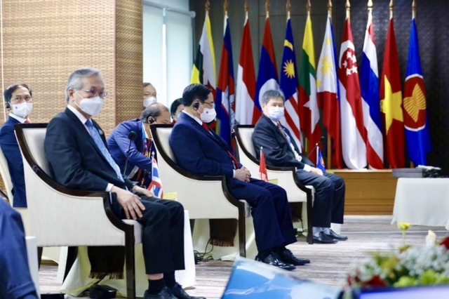Chùm ảnh: Thủ tướng Phạm Minh Chính dự Hội nghị các Nhà lãnh đạo ASEAN - Ảnh 23.