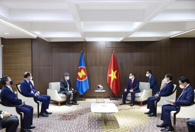 Chùm ảnh: Thủ tướng Phạm Minh Chính dự Hội nghị các Nhà lãnh đạo ASEAN - Ảnh 24.
