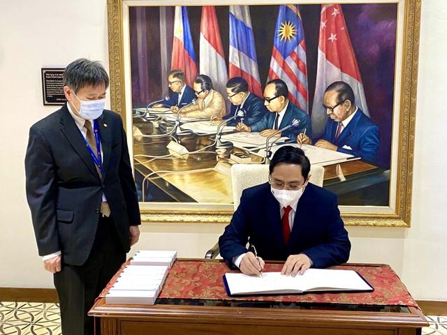 Chùm ảnh: Thủ tướng Phạm Minh Chính dự Hội nghị các Nhà lãnh đạo ASEAN - Ảnh 25.