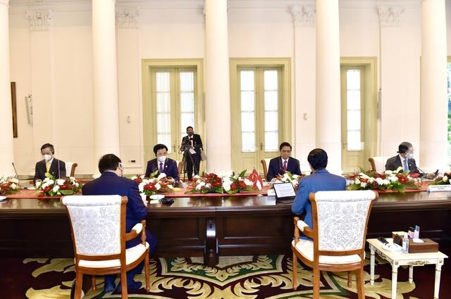 Chùm ảnh: Thủ tướng Phạm Minh Chính dự Hội nghị các Nhà lãnh đạo ASEAN - Ảnh 7.