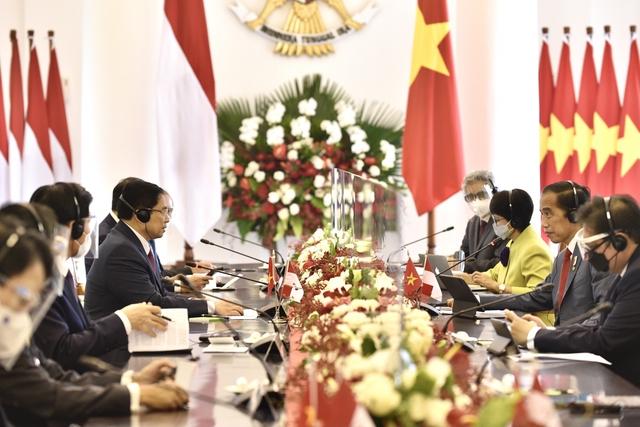 Chùm ảnh: Thủ tướng Phạm Minh Chính dự Hội nghị các Nhà lãnh đạo ASEAN - Ảnh 8.