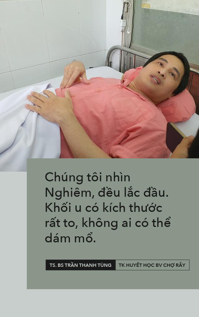 11 năm đào hang không đáy, quyết định lịch sử của bác sĩ BV Chợ Rẫy và cái kết trong mơ của người nằm viện lâu nhất Việt Nam - Ảnh 9.