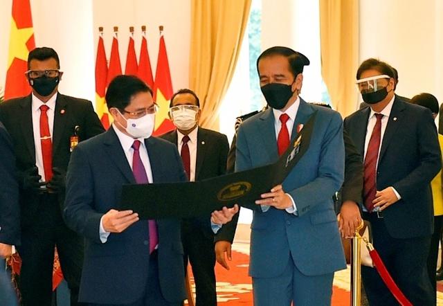 Chùm ảnh: Thủ tướng Phạm Minh Chính dự Hội nghị các Nhà lãnh đạo ASEAN - Ảnh 9.