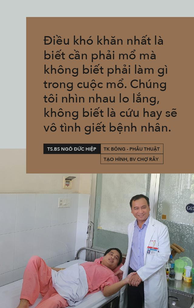 11 năm đào hang không đáy, quyết định lịch sử của bác sĩ BV Chợ Rẫy và cái kết trong mơ của người nằm viện lâu nhất Việt Nam - Ảnh 10.