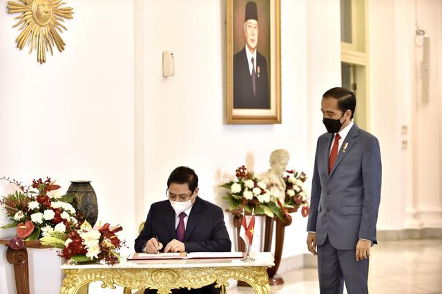 Chùm ảnh: Thủ tướng Phạm Minh Chính dự Hội nghị các Nhà lãnh đạo ASEAN - Ảnh 10.