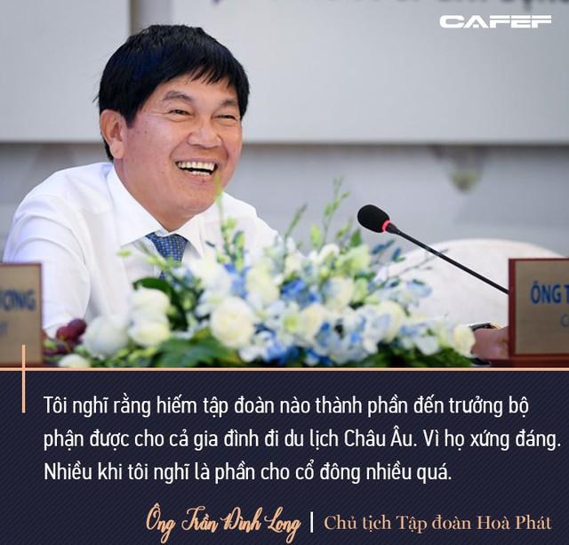 Chủ tịch Hoà Phát Trần Đình Long: Mình sống trên đất nước này mình nên có đóng góp, tôi sẵn sàng nộp thuế - Ảnh 9.