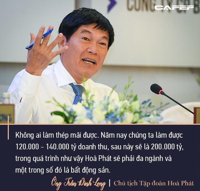 Chủ tịch Hoà Phát Trần Đình Long: Mình sống trên đất nước này mình nên có đóng góp, tôi sẵn sàng nộp thuế - Ảnh 8.