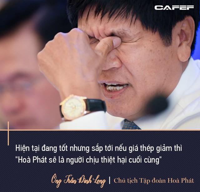 Chủ tịch Hoà Phát Trần Đình Long: Mình sống trên đất nước này mình nên có đóng góp, tôi sẵn sàng nộp thuế - Ảnh 6.