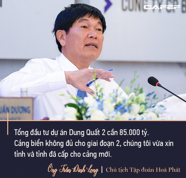 Chủ tịch Hoà Phát Trần Đình Long: Mình sống trên đất nước này mình nên có đóng góp, tôi sẵn sàng nộp thuế - Ảnh 4.