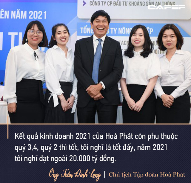 Chủ tịch Hoà Phát Trần Đình Long: Mình sống trên đất nước này mình nên có đóng góp, tôi sẵn sàng nộp thuế - Ảnh 1.