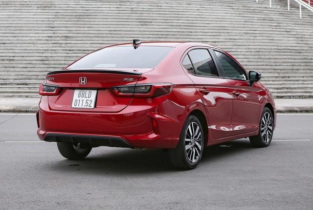 Đánh giá Honda City 2021 – Tiểu Accord lấy gì đấu Hyundai Accent và Toyota Vios? - Ảnh 8.