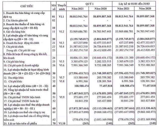 Hạ tầng nước Sài Gòn (SII): Quý thứ 5 liên tiếp báo lỗ gần 18 tỷ đồng - Ảnh 1.