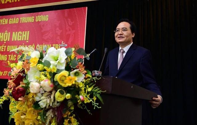 Ông Phùng Xuân Nhạ làm Phó trưởng Ban Tuyên giáo Trung ương - Ảnh 1.