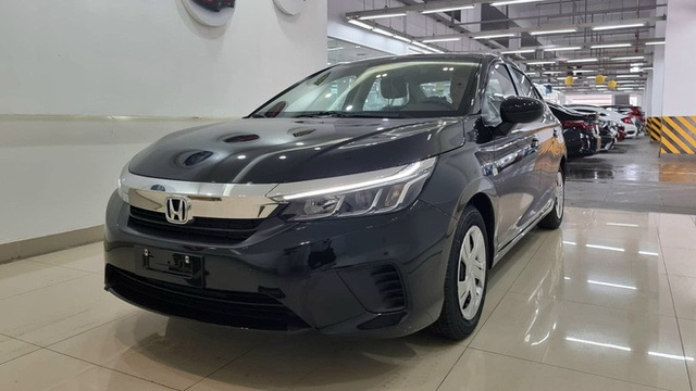 Honda City E 2021 ồ ạt về đại lý: Xe dịch vụ giá 499 triệu, vẫn số tự động, đấu Toyota Vios số sàn - Ảnh 1.