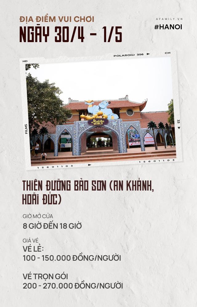 Nghỉ lễ 30/4: Giá vé vào cửa của 7 địa điểm vui chơi ở Hà Nội và Sài Gòn, có nơi còn miễn phí - Ảnh 1.