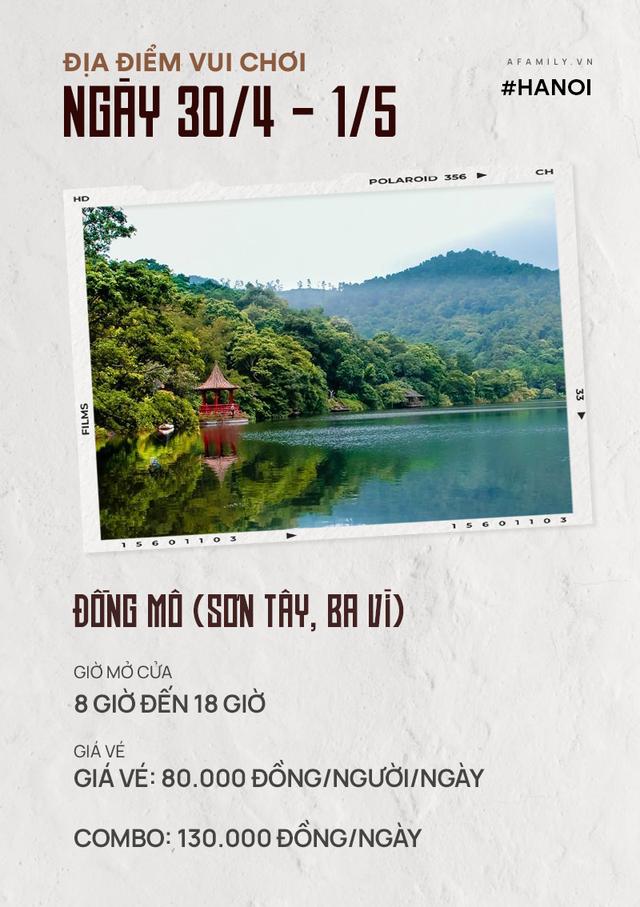 Nghỉ lễ 30/4: Giá vé vào cửa của 7 địa điểm vui chơi ở Hà Nội và Sài Gòn, có nơi còn miễn phí - Ảnh 2.