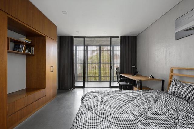 Xây nhà 2,5 tỷ với vật liệu hoàn thiện từ 100% bê tông, cặp vợ chồng khiến người bạn nước ngoài thích thú phải thuê ngay một phòng - Ảnh 13.
