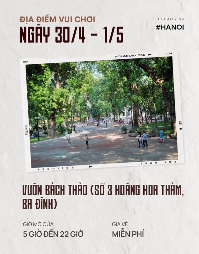 Nghỉ lễ 30/4: Giá vé vào cửa của 7 địa điểm vui chơi ở Hà Nội và Sài Gòn, có nơi còn miễn phí - Ảnh 3.