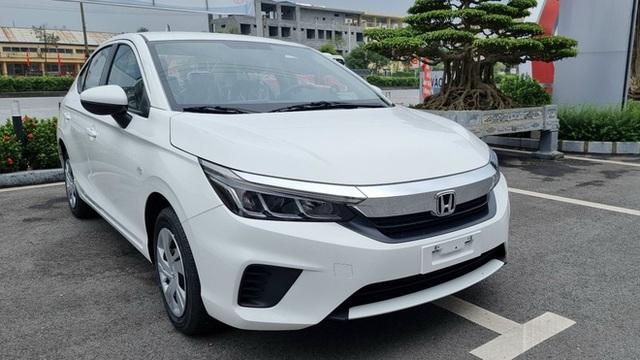 Honda City E 2021 ồ ạt về đại lý: Xe dịch vụ giá 499 triệu, vẫn số tự động, đấu Toyota Vios số sàn - Ảnh 5.